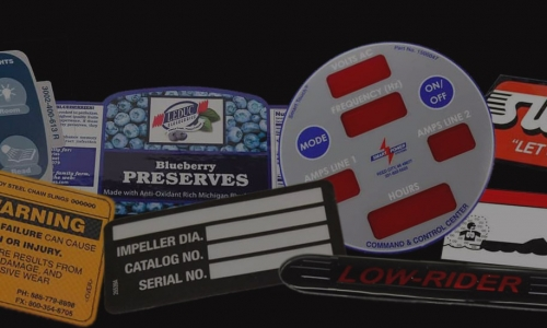 Choose Custom Printing to Label your Business