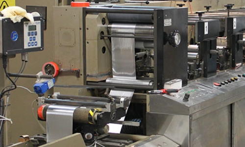 Print Large Quantities with Flexographic Printing from Impact Label