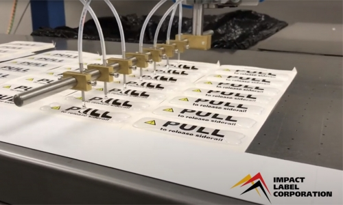 Impact Label Introduces Our New, State-of-the-Art Doming Machine for Custom Labels